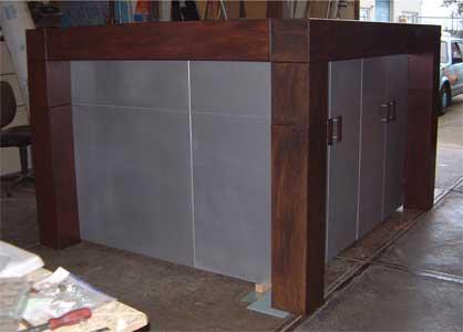Hoogslaper Met Kastruimte : Smalle slaapkamer met hoogslaper in luxe galerij van hoogslaper